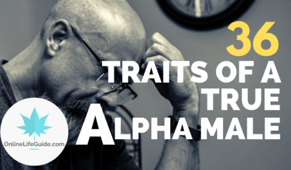 38 Traits Of A True Alpha Male