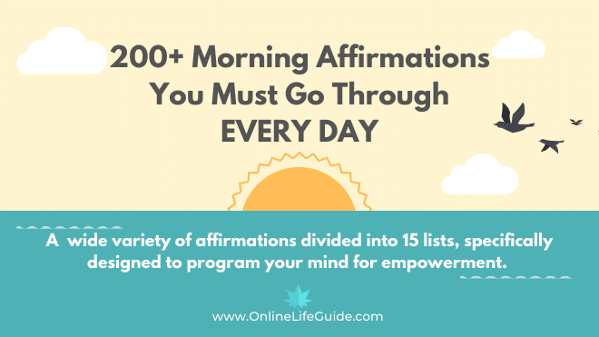 200+ Affirmations You Must Go Through DAILY